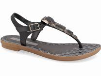 Женские Босоножки Grendha Jewel 81970-22426 (чёрный/серый)