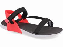 Womens sandals Rider RX 82136-21428 Sandal Made in Brasil (coral/black/red)
