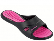 Женские шлепанцы Rider Slide Feet Vii Fem 81907-23096 унисекс   (малиновый/розовый/чёрный)