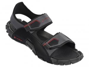 Туристическая обувь Rider 81910-22335 унисекс   (тёмно-серый/чёрный)