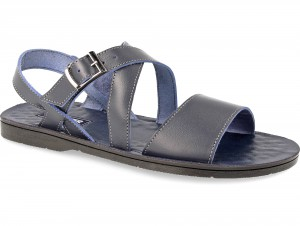 Forester Sandals Sand Leather Navy 049-89