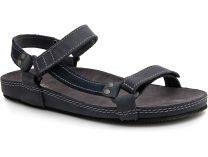 Мужские сандалии Las Espadrillas 06-0192-001   (тёмно-синий)