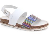 Женская ортопедическая обувь Las Espadrillas 07-0274-003   (белый)