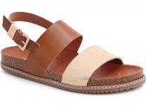 Ортопедическая обувь Las Espadrillas 07-0274-004 унисекс   (светло-коричневый/бежевый)