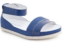Orthopedic shoes Las Espadrillas 07-0275-002(blue)