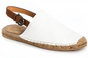 Men's sandals Las Espadrillas 110-13SD White