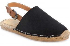 Men's sandals Las Espadrillas 110-27SD Black