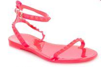 Пляжная обувь Las Espadrillas 307 унисекс   (розовый)