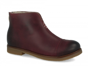 Winter boots Forester Marsala 3261-48 Burgundy, Genuine leather