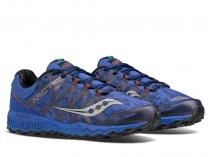 Мужские кроссовки Saucony Peregrine 7 Ice S20397-1   (синий)