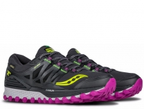 Женские кроссовки обувь Saucony Xodus Iso Gtx 10339-1S   (тёмно-серый)