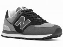 Серые кроссовки New Balance WL574WU2