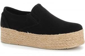 Women's sneakers Las Espadrillas 5104 SL Black cotton