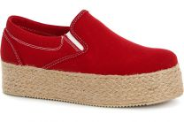 Sneaker wedge Las Espadrillas Red Jute 5105 SL