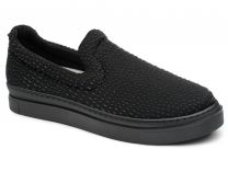 Женская текстильная обувь Las Espadrillas 6406-27   (чёрный)