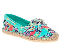 Балетки Sperry Top-Sider KATAMA PRINTS STS91698 (бирюзовый)