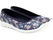 Спортивные балетки Las Espadrillas denim Rose Motion Foam 42635-8034