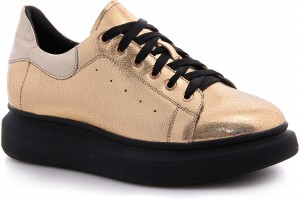 Fashion sneakers Las Espadrillas 1732-1 Golden