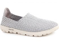 Sports moccasins Greyder White 04059-14 Insole Memory Foam