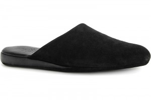 Leather slippers Forester Home 770-3