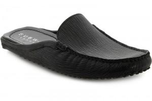 Чоловіче взуття Subway 7196-5RFL Чорна шкіра