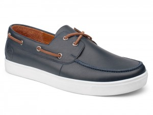 Топсайдеры Forester Yacht Marine 020216-46 Navy Leather
