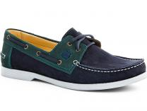 The Forester 5037-22 shoes (Navy/green)