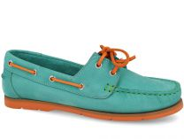 Moccasins Forester 6560-2201 unisex (turquoise/orange/green)
