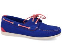 Womens moccasin Forester 6570-4013 (blue)