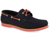 Мужские мокасины Forester Summer Leather Boat Shoe 6894-2747