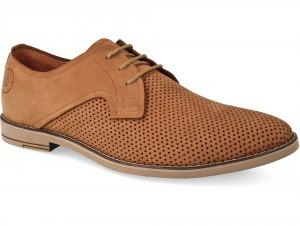 Туфлі чоловічі Forester Smart Taba Nubuk 1679-042