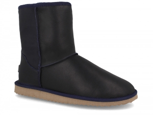 Sheepskin boots Forester Sheep 111001-2011  Navy Dark blue, Genuine leather, Natural fur