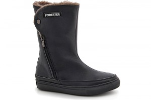 Insulated boots Forester 8530-272Ks Black leather