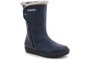 Winter sneakers Forester 8530-89Sk Blue leather