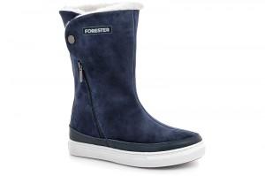 Утеплені чобітки Forester 8530-89Sz темно-сині