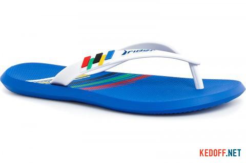 Мужские вьетнамки Rider R1 Olympics 81530-21308 Made in Brazil фото