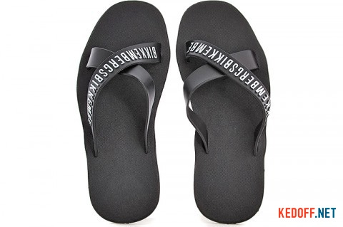 Шлепки Bikkembergs Mens Flip Flops 568-27 MADE IN iTALY фото