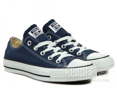 Кеды Converse Chuck Taylor All Star Ox Navy M9697C унисекс тмно-синий