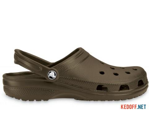 Сандалии Crocs Classic 10001-200 унисекс коричневый