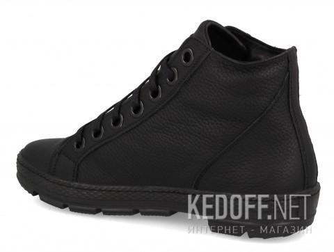 Зимние ботинки на меху Forester Pantera 213480-27 Mono Black фото