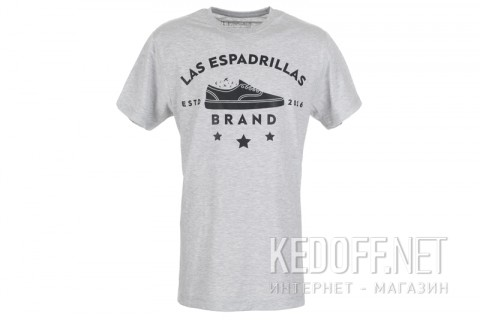 Футболка Las Espadrillas Brand2016 46531-G858 фото