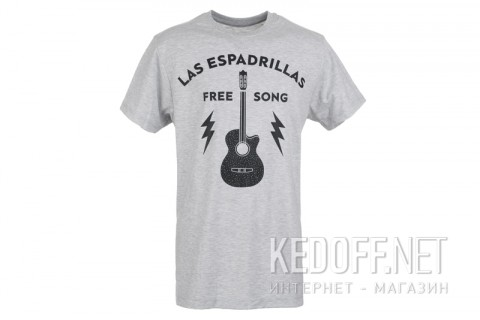 Футболка Las Espadrillas Free Song 46532-G858 фото