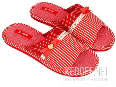 Шлепанцы Gemelli 1501241-47 унисекс красный
