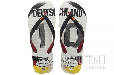 Вьетнамки пляжные Havaianas Team Germany фото