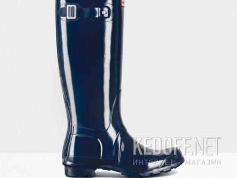 Женские резиновые сапоги Hunter Original Tall Gloss WFT1000RGL-89 синий