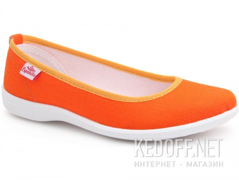 Женские балетки Las Espadrillas La coste Motion Foam 300816-01 Orange фото