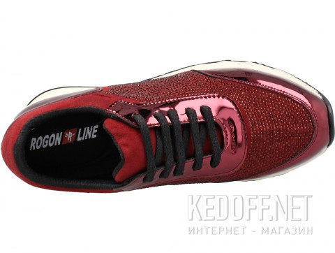 Кроссовки Forester 4020-48 унисекс бордовый