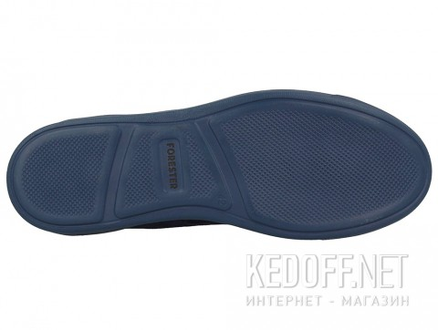 Мужские зимние кеды Forester 132125-890 тмно-синий