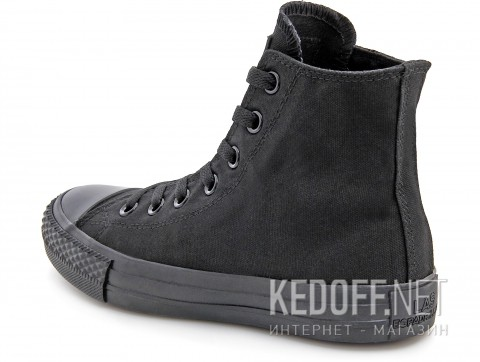 Кеды Las Espadrillas Black Classic High LE38-3310 фото