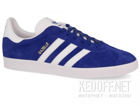 Мужские комфорт Adidas Originals Gazelle S76227 синий